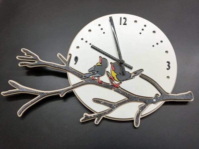 Koka pulkstenis #2